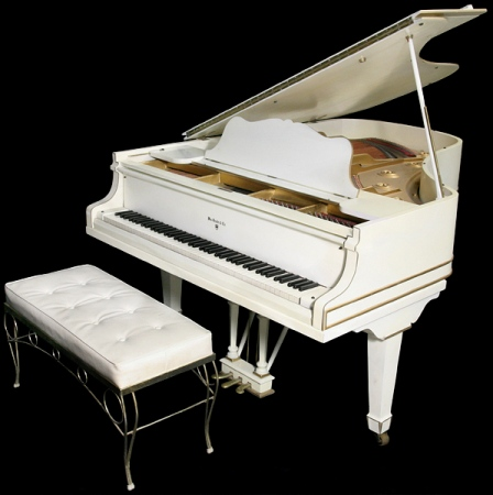 Is Elvis White Knabe Piano A White Elephant Elvisblog