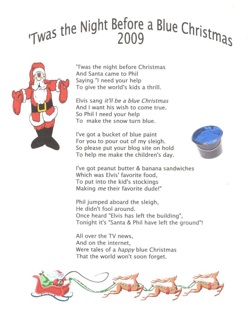 A Christmas Eve Poem | ElvisBlog