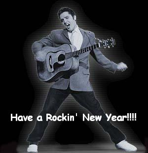 HAPPY NEW YEAR  ELVIS