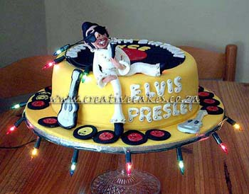Cakes Elvis 75th Birthday Photo Review Elvisblog