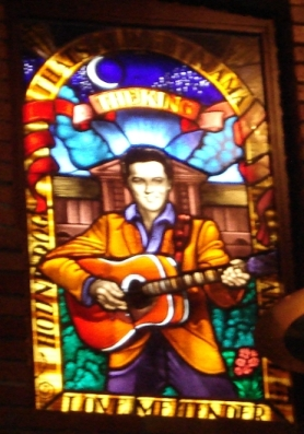 Hard Rock Cafe Dallas Stained Glass Windows