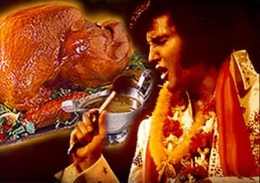 Résultat d'images pour elvis presley thanks giving