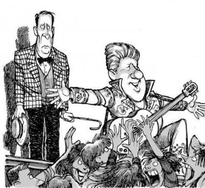 Al Gore and Elvis Clinton