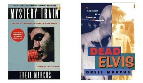 Elvis Books by Greil Marcus