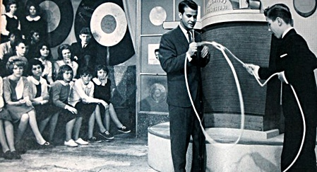 Dick Clark on American Bandstand 1961