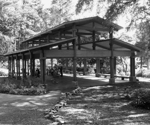 Large Pavilion Used for Dancing