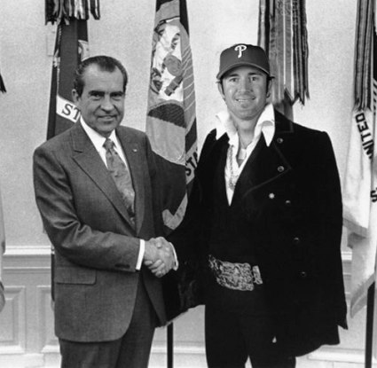Nixon and Chase Utley