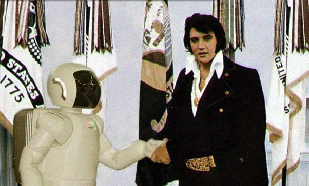 Robot and Elvis