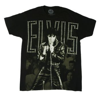 Elvis-black-leather