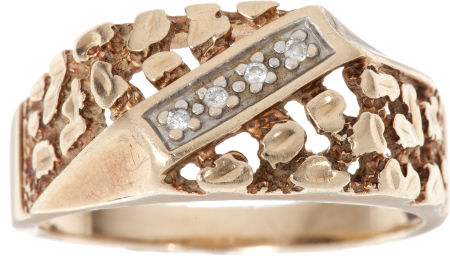 Gold Nugget Ring $6,000 estimate Lot 46083