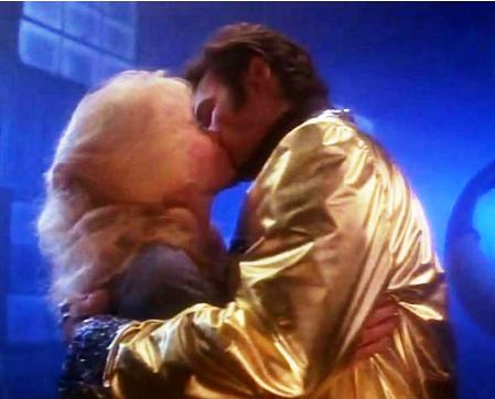Tuesday Weld Kissing Elvis