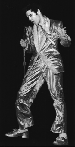 Elvis In Gold Suit