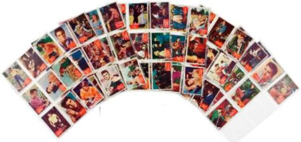 Elvis Presley Bubbles Inc. Gum Card Set of 66