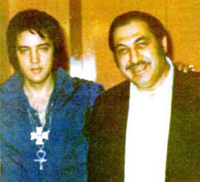 Elvis and Al Dvorin