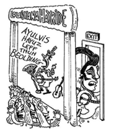 Louisiana Hayride Cartoon