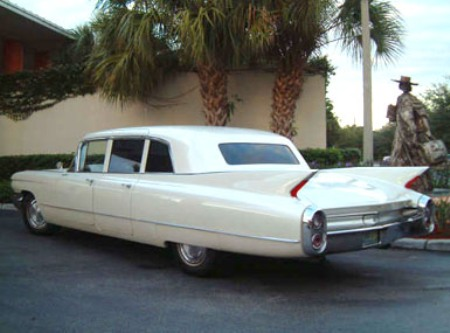1960 Cadillac Fleetwood Limo-Series-75
