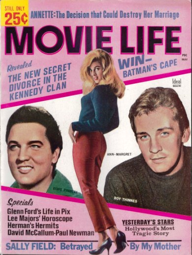 Elvis and Annette Mag Cover