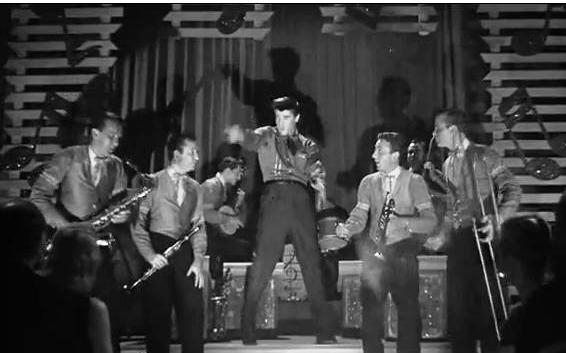 Elvis and Jordanaires singing New Orleans