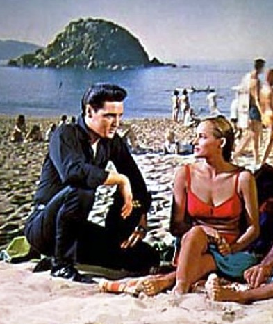Elvis and Ursula Andress