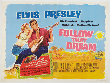 Follow That Dream Lobby Poster