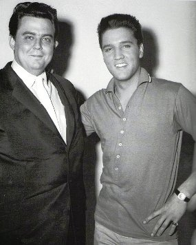 Lamar and Elvis at RCA studios in LA