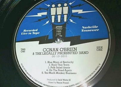 Conan Album - Side One