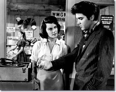 Elvis and Judy Tyler