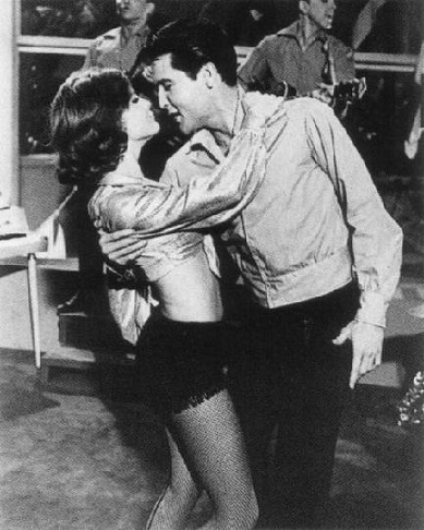 Elvis and Shelly Fabares