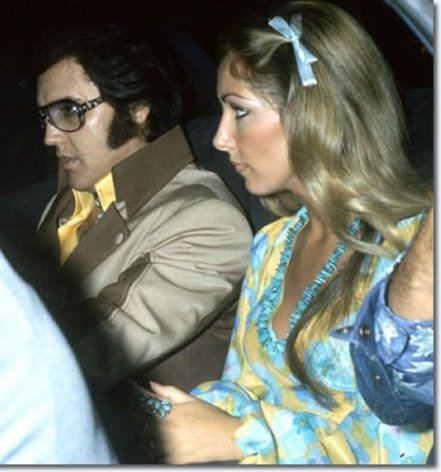 Elvis and Linda - 1975 or 76