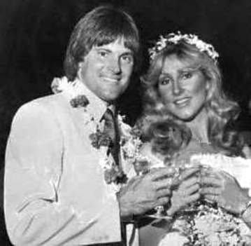 Linda Thompson and Bruce Jenner - 1981