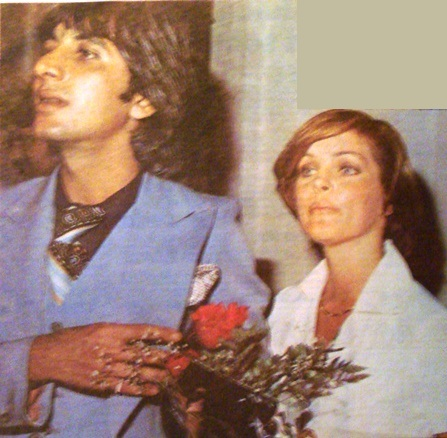 Priscilla and Hairdresser Elie Erzer
