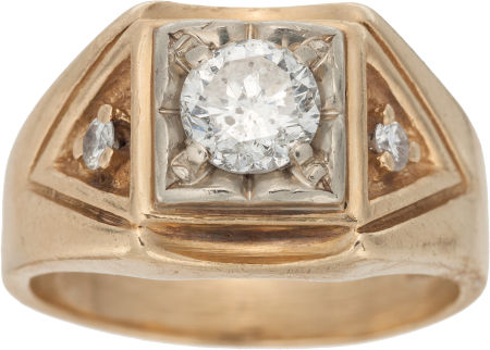 Diamond Ring  14 carat gold