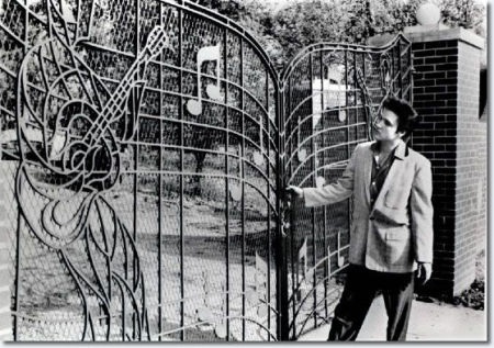Graceland Gate --  Opener in Elvis Hand
