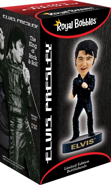 Royal Bobbles '68 Special Elvis Bobblehead