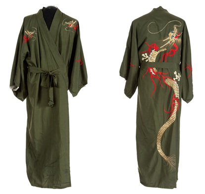 Silk Robe from Sonny West