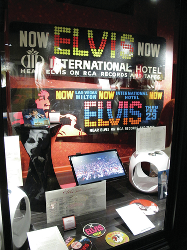 Elvis Las Vegas Exhibit