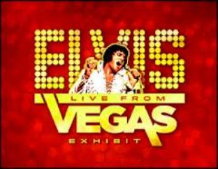 Elvis Live from Las Vegas Exhibit Sign