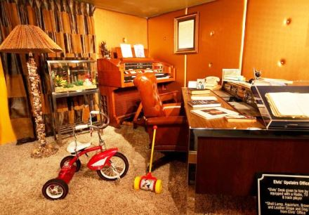 Lisa Exhibit -  Elvis' Upstairs Office