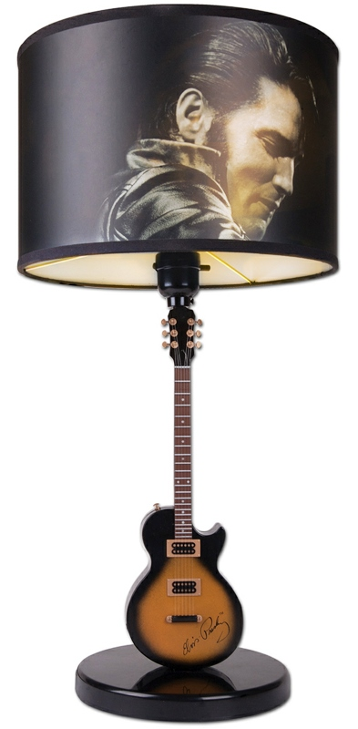 Captivating Elvis Guitar Lamp