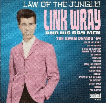 Link Wray - Album Cover Pink Coat