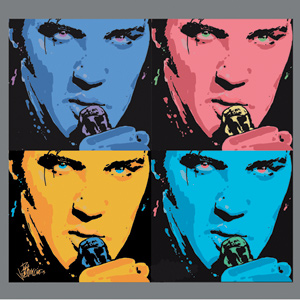 Andy Warhol Print- Multiple Elvis