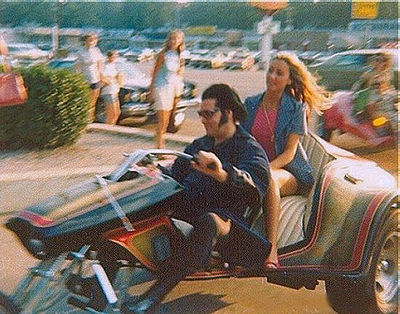 Elvis & Linda Thompson on SuperTrike 1975