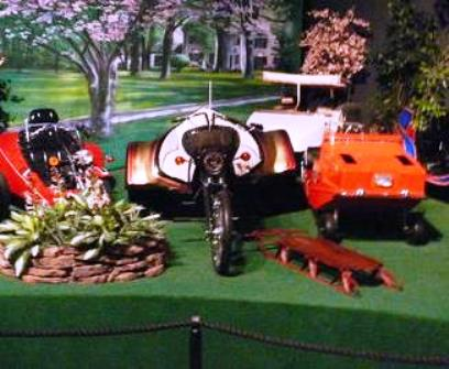 Elvis' SuperTrike in Display at Gracland