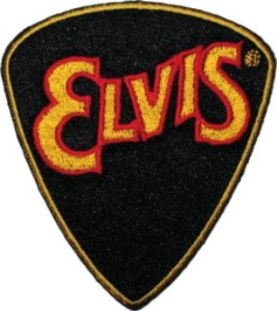 Guitar Pick Elvis