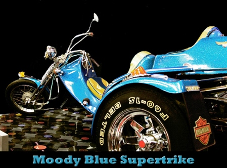 Moody Blue Supertrike from The Private Collection of the King on Tour