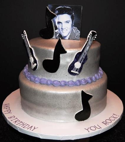Elvis Birthday Cake 1