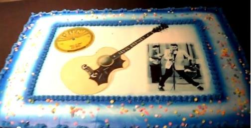 Elvis Birthday Cake 2