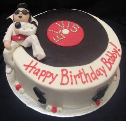 Elvis Birthday Cake 3