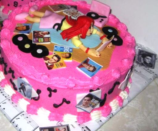 Elvis Birthday Cake 5