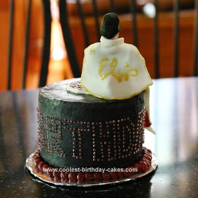 Elvis Birthday Cake 6